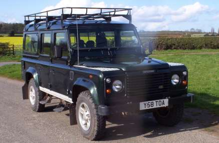 LANDROVER 110 Td5 9 SEATER COUNTY STATION WAGON