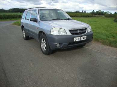 MAZDA TRIBUTE GSI 4WD 2.0 PETROL 5 DOOR