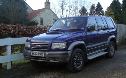 ISUZU TROOPER 3.0 TD CITITION 5 DOOR