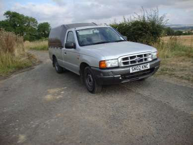 FORD RANGER 2.5 SINGLLECAB PICKUP