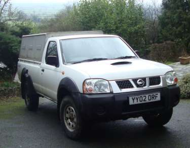 NISSAN D22 4X4 SINGLE CAB PICKUP