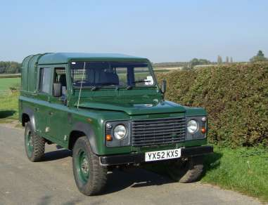 LANDROVER 110 Td5 DOUBLECAB PICKUP