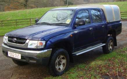 TOYOTA HILUX DOUBLE CAB PICKUP