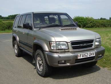 ISUZU TROOPER 3.0 CITITION 5 DOOR