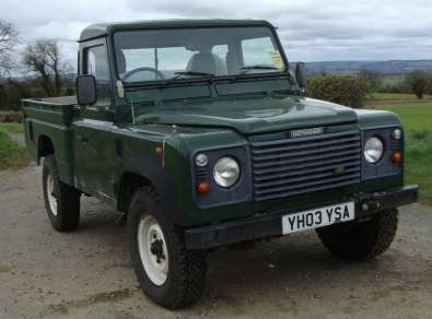 LAND ROVER 110 2.5 TdI HICAPACITY PICKUP