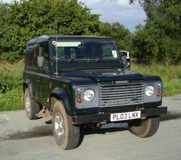 LAND ROVER 90 Td5 COUNTY HARD TOP