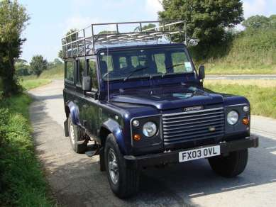 LANDROVER 110 COUNTY STATION WAGON