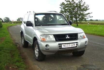 MITSUBISHI SHOGUN 3.2 Did 3 DOOR