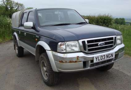 FORD RANGER 2.5 TD DOUBLECAB PICKUP