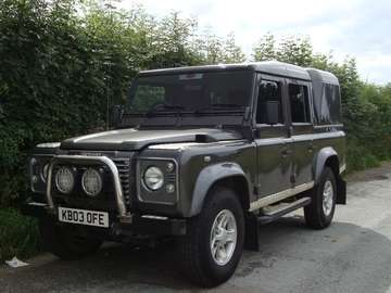 LAND ROVER 110 Td5 COUNTY XS DOUBLECAB PICKUP