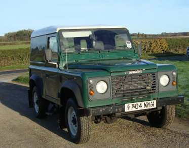 LAND ROVER 90 Td5 HARDTOP