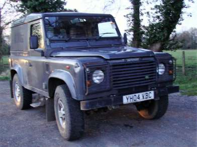 LAND ROVER 90 300 Tdi DEFENDER COUNTYHARDTOP