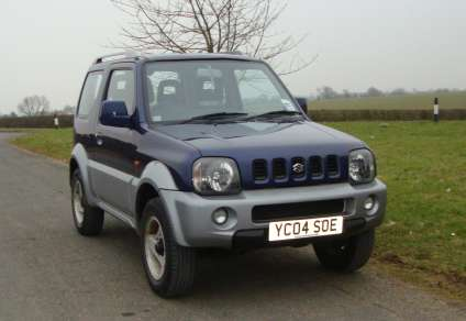SUZUKI JIMNY 1.3 MODE 3DOOR PETROL CAR