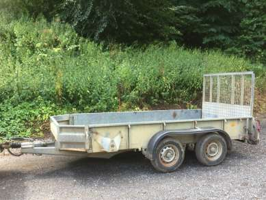 IFOR WILLIAMS 10ft GENERAL PURPOSE TRAILER