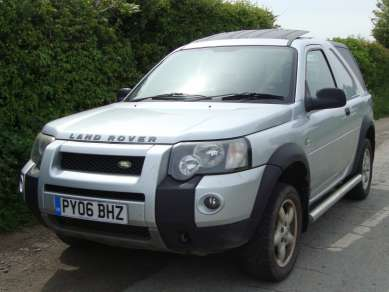 LAND ROVER FREELANDER Td4 3 DOOR VAN