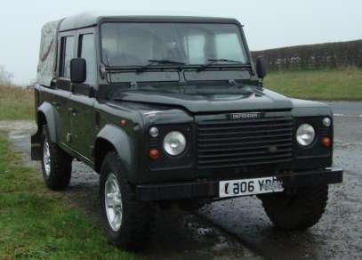 LANDROVER 110 TD5 DOUBLE CAB PICKUP
