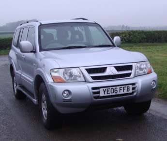 MITSUBISHI SHOGUN 3.2 Did 5 DOOR AUTO