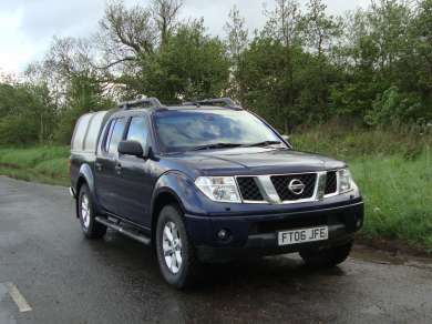 NISSAN NAVARA D40 OUTLAW DOUBLECAB PICKUP