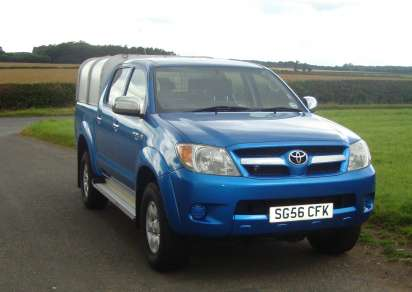 TOYOTA HILUX 2.5 TD HL3 DOUBLECAB