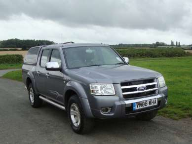 FORD RANGER 2.5 Tdci DOUBLECAB PICKUP