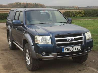 FORD RANGER 2.5 Tdci 4X4 XLT DOUBLECAB PICKUP