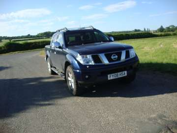 NISSAN NAVARA 2.5 DCI OUTLAW D/CAB PICKUP
