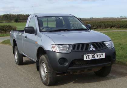 MITSUBISHI L200 2.5 DiD 4 WORK SINGLECAB PICKUP