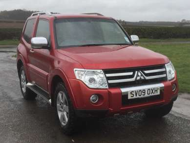 MITSUBISHI SHOGUN 3.2 Did 3 DOOR AUTO VAN