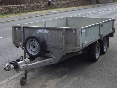 GRAHAM EDWARDS 10FT X 6FT FLAT TRAILER