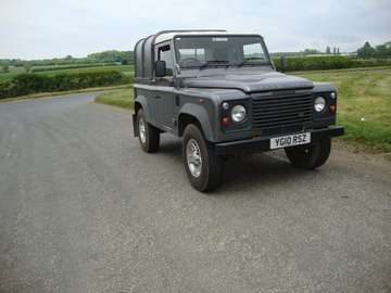 LANDROVER 90 2.4 TDCI TRUCK CAB
