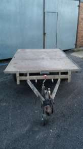 USED IFOR WILLIAMS FLAT TRAILER