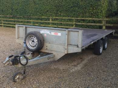 GRAHAM EDWARDS 14ft FLAT BED TRAILER