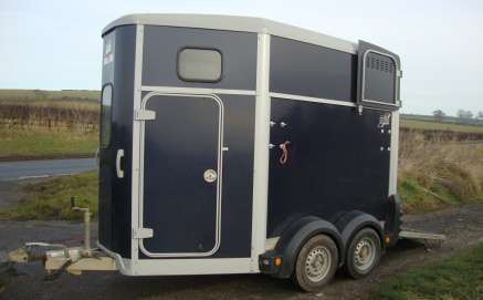 IFOR WILLIAMS HB506R DOUBLE HORSE TRAILER