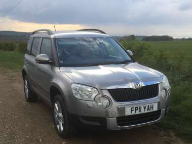 SKODA YETI SE 2.0TDI CR 4X4 5 DOOR