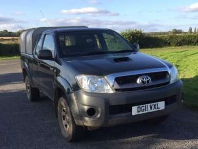 TOYOTA HILUX 2.5 D4D EXTRA CAB PICKUP