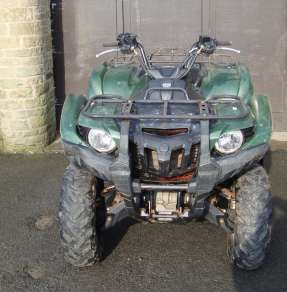 YAMAHA 550 GRIZZLY 4WD QUAD
