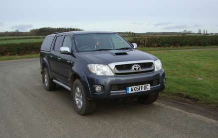 TOYOTA HILUX 3.0 D4D INV DOUBLECAB PICKUP