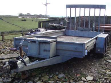 GRAHAM EDWARDS 12ft PLANT TRAILER