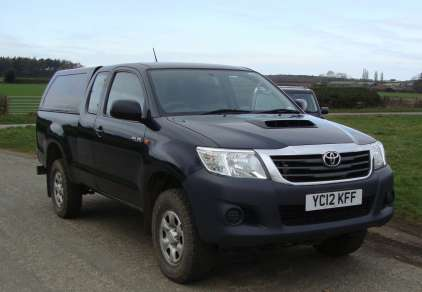 TOYOTA HILUX 2.5 D4-D EXTRA CAB PICKUP