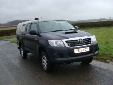 TOYOTA HILUX HL2 2.5 EXTRACAB PICKUP