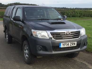 TOYOTA HILUX 2.5 D4d EXTRACAB PICKUP