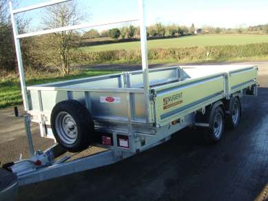 2017  NUGENT 14ft TWIN AXLE FLAT TRAILER