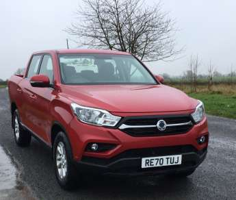 SSANGYONG MUSSO 2.2 EX DOUBLE CAB PICKUP