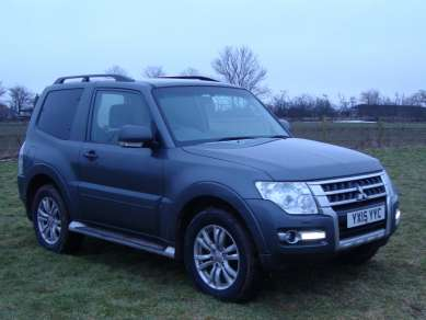 MITSUBISHI SHOGUN 3.2 Did 3 DOOR VAN
