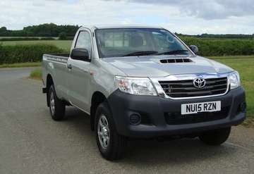 TOYOTA HILUX 2.5 D4D ACTIVE 4X4 SINGLE CAB PICKUP