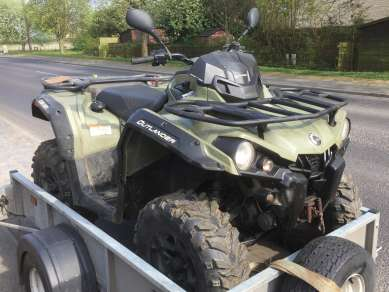 CAN-AM 570 PRO 4X4 QUAD