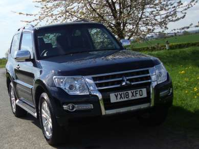 MITSUBISHI SHOGUN 3.2 Did AUTO WARRIOR 3 DOOR