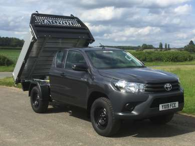 TOYOTA HILUX 2.4 D4d  EXTRACAB PICKUP