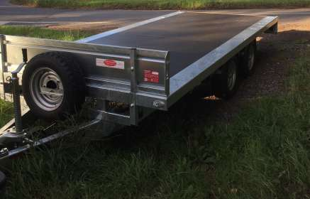 NEW NUGENT 16ft FLAT BED TRAILER