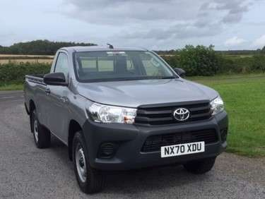 TOYOTA HILUX 2.4 D4D SINGLE CAB PICKUP